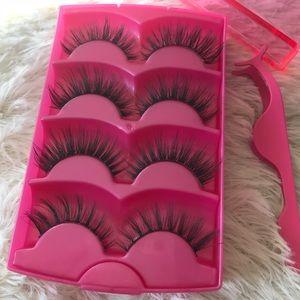 Other - Mink lashes + Eyelash Case